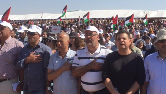 فلسطينيو 48 يحيون النكبة بمسيرة العودة الى قرية زبالة المهجرة