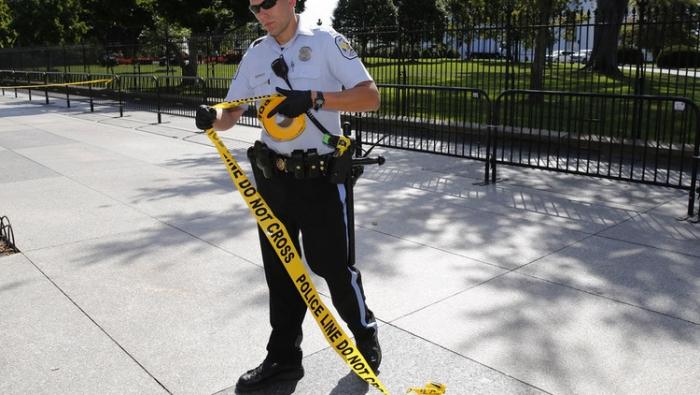 إطلاق نار بجوار البيت الأبيض في واشنطن (صور)