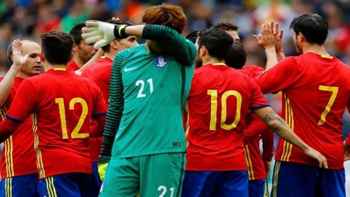 إسبانيا تسحق كوريا الجنوبية بسداسية استعدادا لليورو