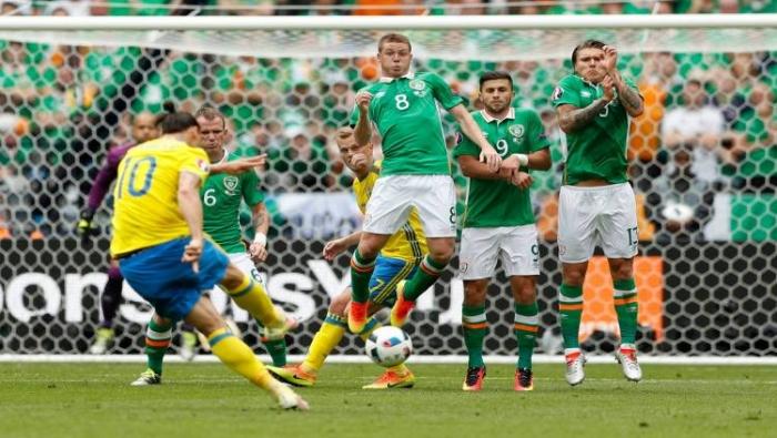 يورو 2016: السويد تتعادل أمام إيرلندا بهدف لكليهما (فيديو)