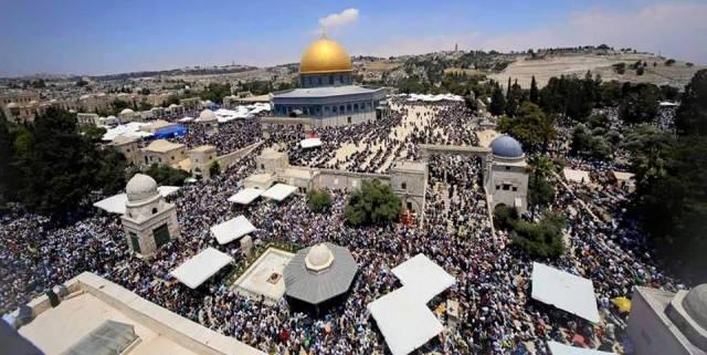 خاص| هندسياً.. المسجد الأقصى لا يتسع لأكثر من 180 ألف مصل