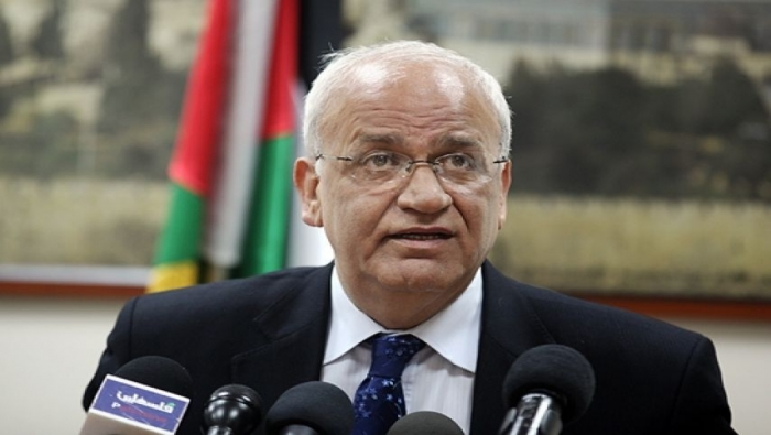 عريقات يطالب دعم المجهود الفلسطيني للتوجه الى مجلس الامن الدولي ضد الاستيطان