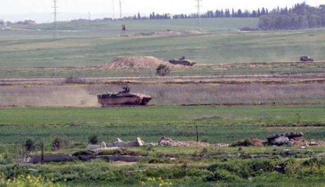 الاحتلال يطلق النار صوب المزارعين شرق دير البلح