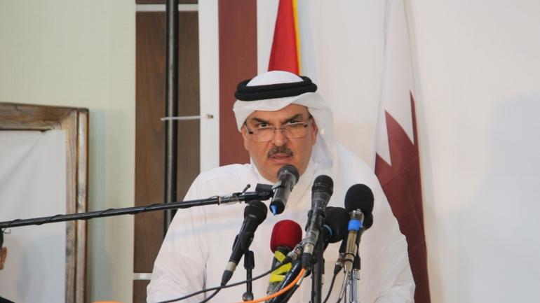 العمادي: قطر تدعم المصالحة الفلسطينية أينما تمت  سواء في القاهرة أو الرياض