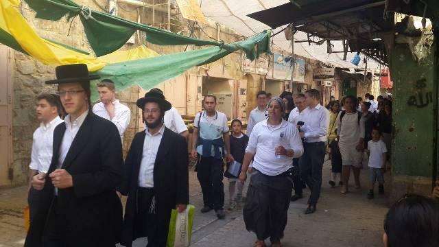 الحدث الإسرائيلي | أكثر من 35 ألف يهودي يقتحمون الخليل