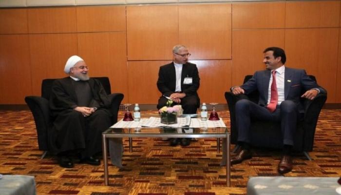 أمير قطر يزور إيران