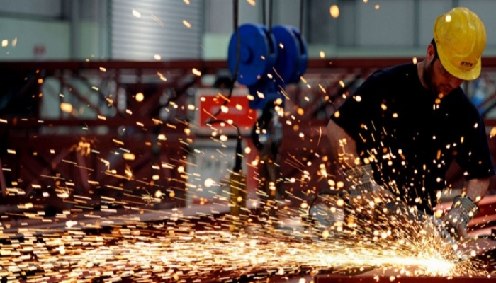 الرقم القياسي للإنتاج الصناعي ينخفض بنسبة 1.90%