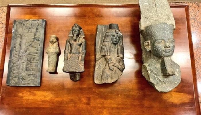 الحراس المصريون يحبطون محاولة سرقة آثار