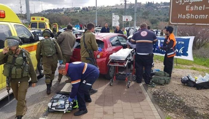 إصابة إسرائيلية
