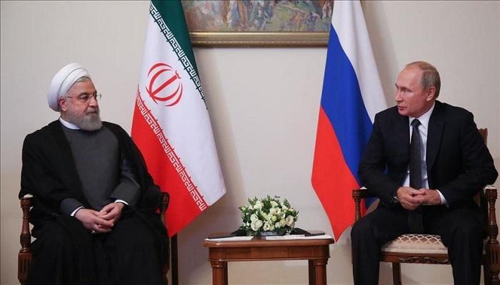 بوتين يبحث مع روحاني