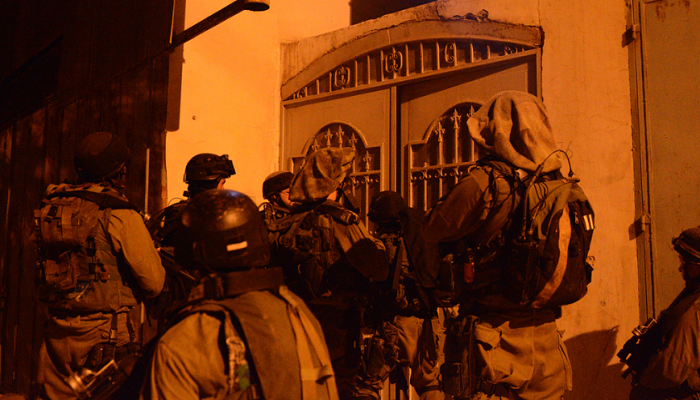 الاحتلال اعتقل 341