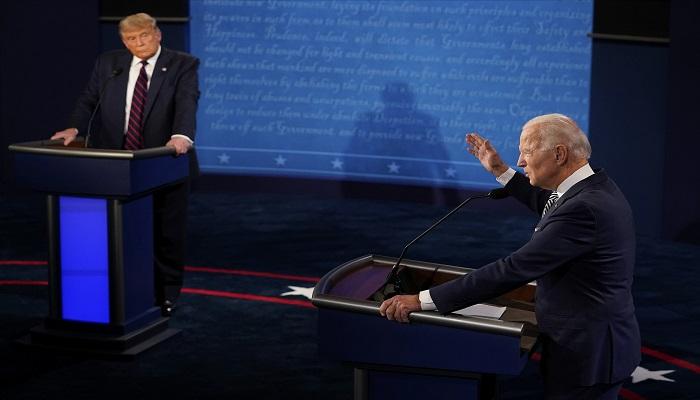 كورونا والفساد يتصدران المناظرة الأخيرة بين ترامب وبايدن