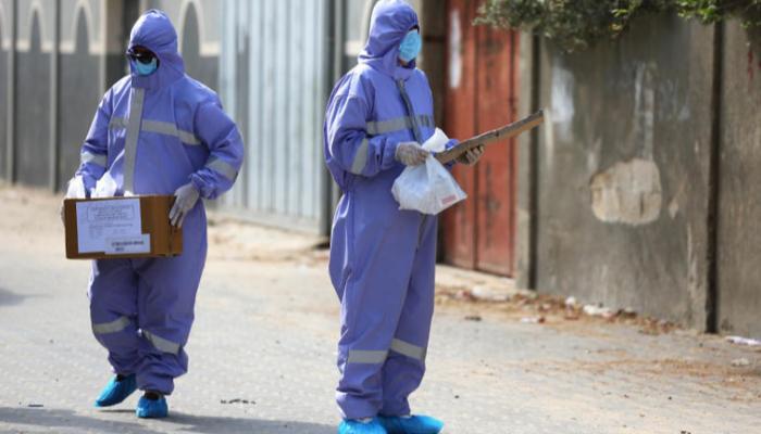 صحة غزة: وباء كورونا بات يتغلغل بكافة مناطق القطاع