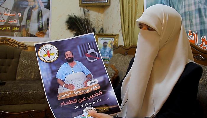 لليوم الثاني بعد المئة.. الأسير الأخرس يواصل إضرابه عن الطعام وتحذيرات من خطورة وضعه الصحي