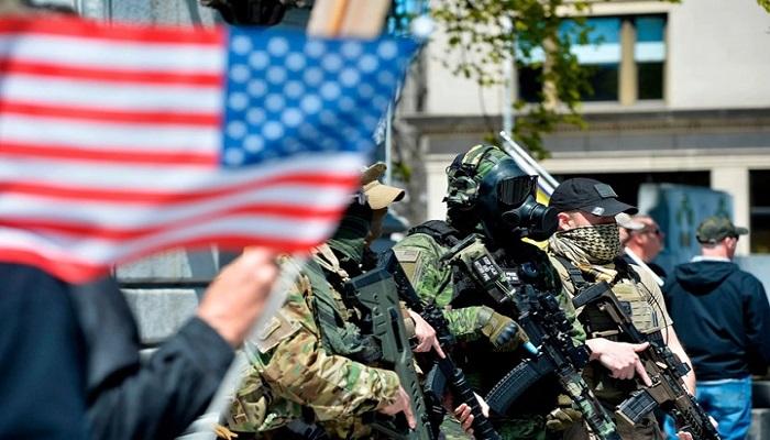 هل أمريكا على موعد مع  حرب أهلية جديدة أبطالها ميليشيات ترامب؟