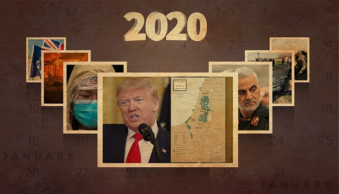 كيف مرّ عام 2020؟