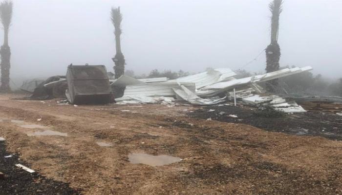 الاحتلال يهدم متنزهًا وقاعة أفراح بقرية عين ماهل بالجليل المحتل