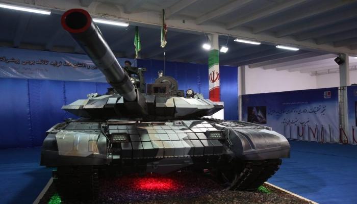 إيران: دبابة
