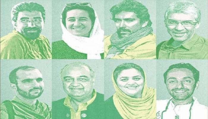 أحكام بالسجن بحق 8 موظفين إيرانيين بمنظمة البيئة بتهمة التجسس