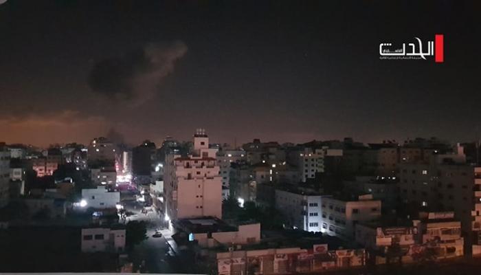 إصابات في قصف إسرائيلي