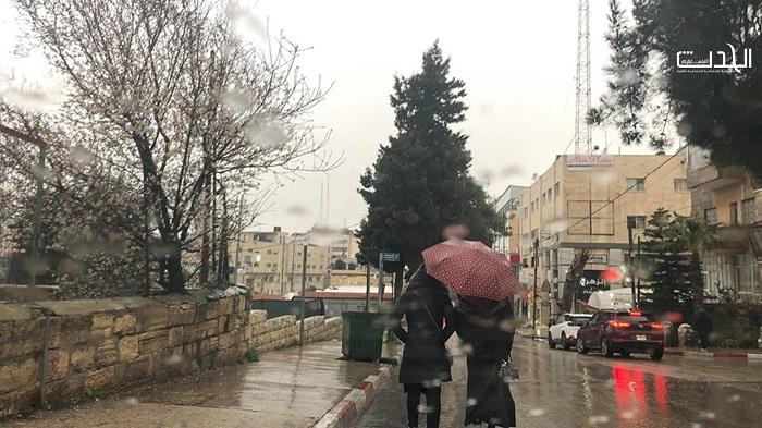 الطقس: فرصة لتساقط الأمطار