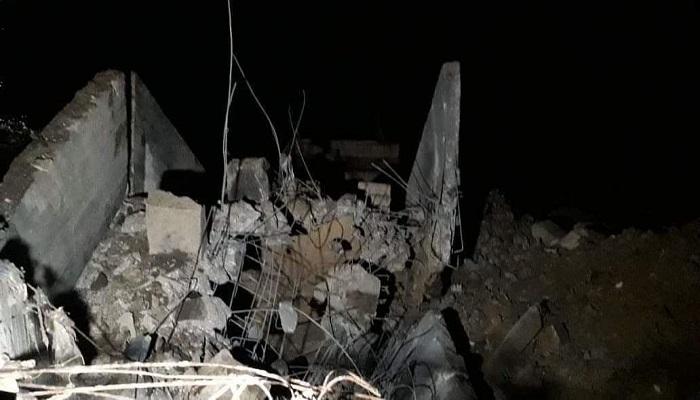 طائرات الاحتلال تستهدف موقعين في قطاع غزة