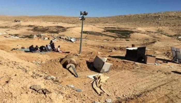 أوامر هدم وإخلاء لمنازل في قرية رخمة بالنقب