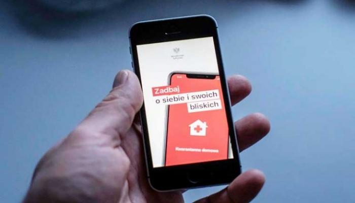 """بولندا تطلق تطبيق """"هوم كوارنتين"""" للتأكد من التزام المرضى الحجر المنزلي"""