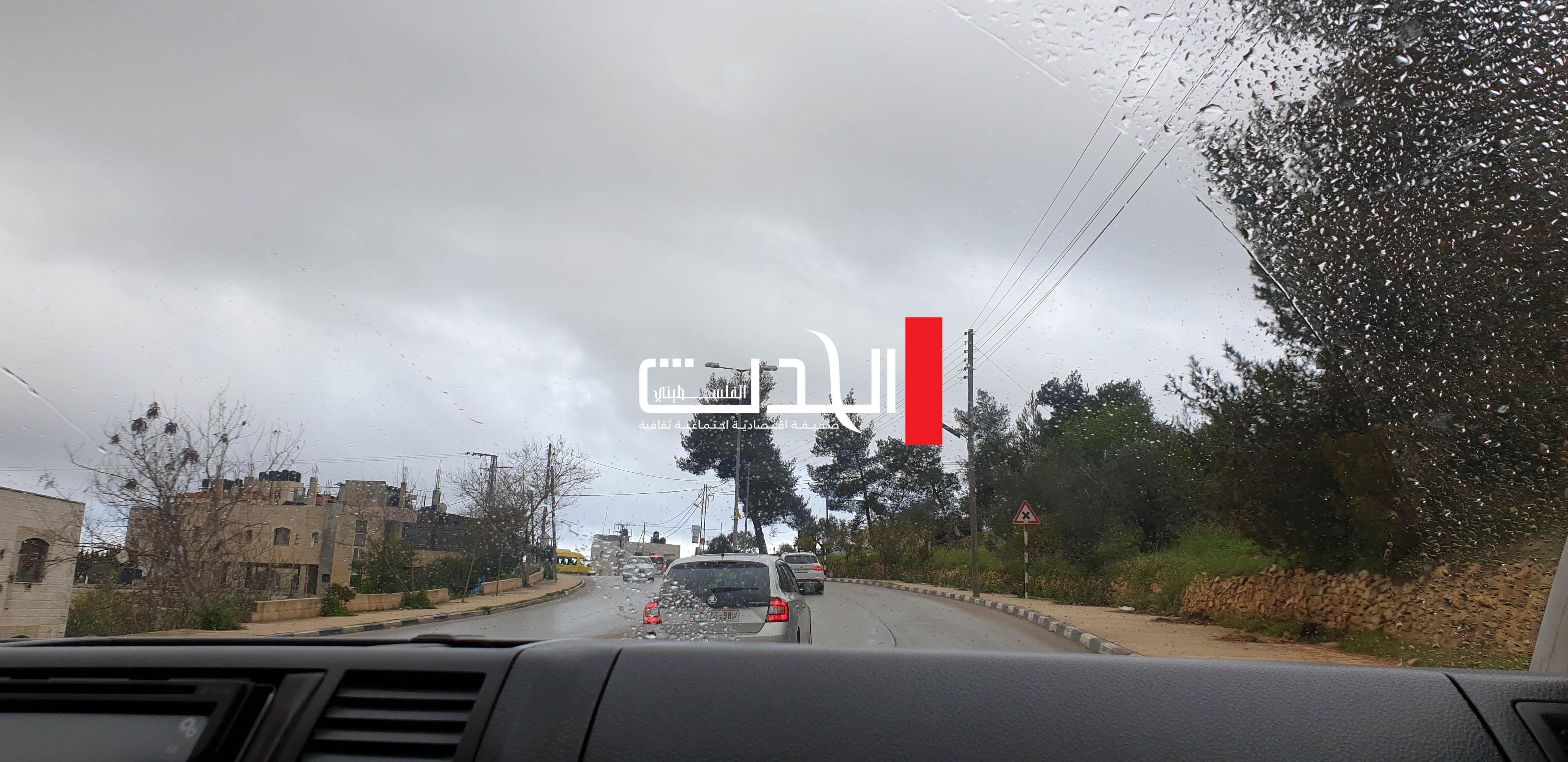 طقس فلسطين: الأمطار تعود