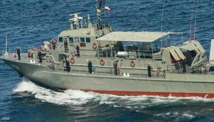 إيران تعلن عن حصيلة القتلى في حادث قصف السفينة الحربية