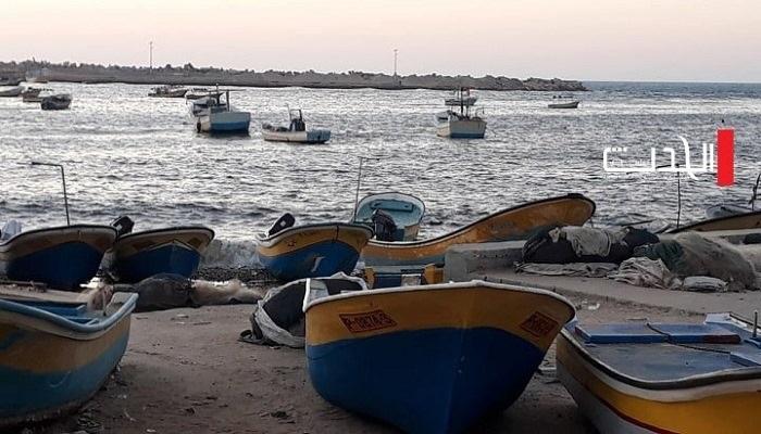 إصابة صياد برصاص قوات الاحتلال في بحر غزة