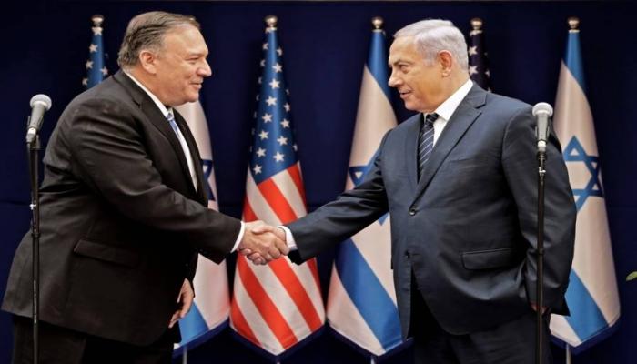 """بومبيو: من حق """"إسرائيل"""""""