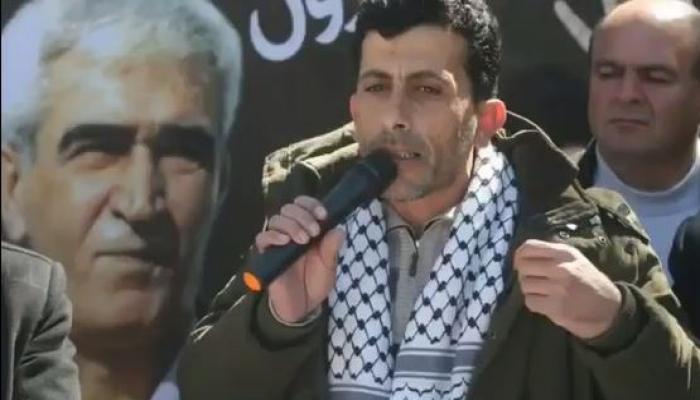 الأسير جنازرة مضرب عن الطعام رفضا لاعتقاله الإداري