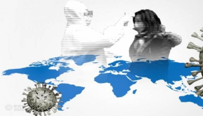 كورونا حول العالم.. معدل الإصابات اليومية ينخفض والحصيلة تلامس 5,5 مليون
