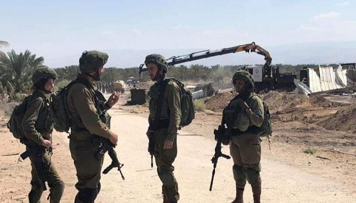 الاحتلال يهدم تجمع دير حجلة البدوي في أريحا