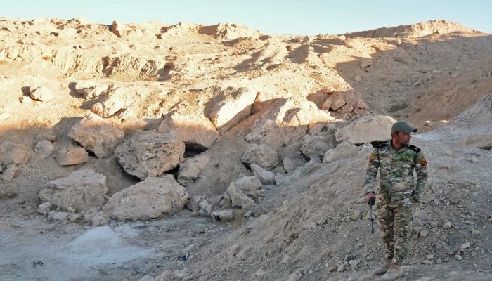 العثور على مقبرة جماعية تضم 600 رفات شمال العراق
