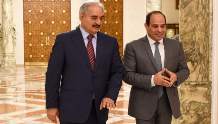 السيسي يعلن مبادرة شاملة لإنهاء الصراع في ليبيا