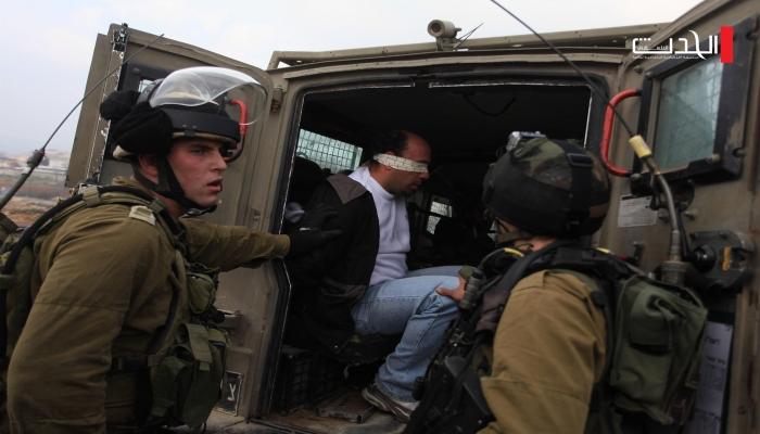 بالأسماء.. الاحتلال يشن حملة مداهمات واعتقالات في رام الله