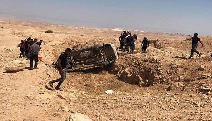 ست إصابات في حادث سير شمال أريحا