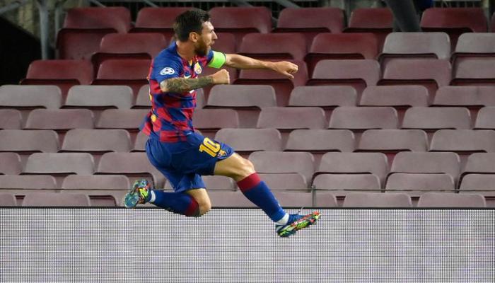 كيف انتقم نجم برشلونة عقب مباراة نابولي؟