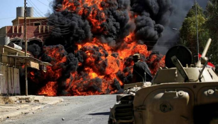 انفجار عبوة ناسفة في رتل للتحالف الأمريكي قرب بغداد