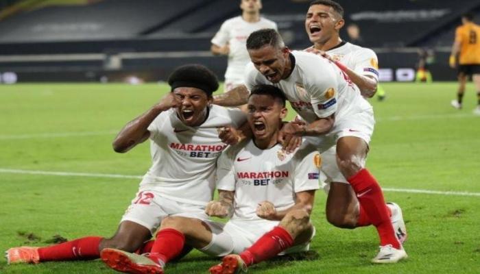 اشبيلية يصعد لقبل نهائي الدوري الأوروبي