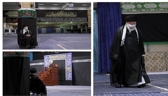المرشد الأعلى الإيراني يحيي أيام عاشوراء في العزل