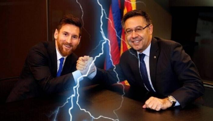 ميسي يرفض العودة للتدريبات.. ورئيس برشلونة يعلن موقفه النهائي