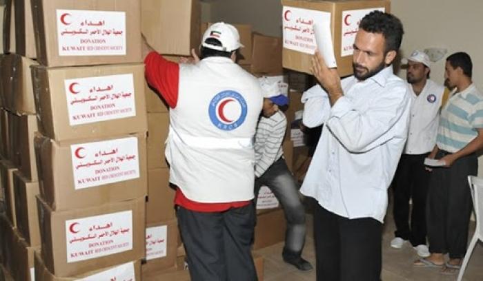 الهلال الأحمر الإيراني يرسل أول شحنة مساعدات إنسانية إلى لبنان