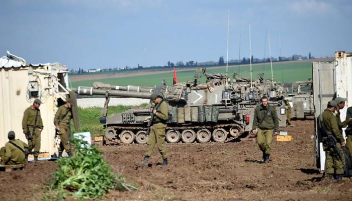 غانتس يوعز لجيش الاحتلال بالرد على غزة