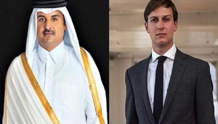 أمير قطر لكوشنر: حل الدولتين مطلوب لإنهاء الصراع الإسرائيلي-الفلسطيني