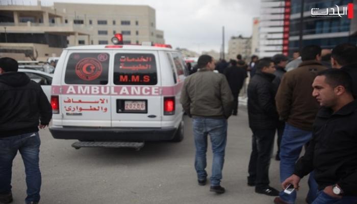 إصابة 6 مواطنين في حريق اندلع إثر تسرب غاز في رام الله