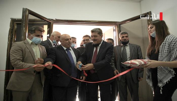 افتتاح مكتب لوزارة الداخلية في بلدة بيرزيت