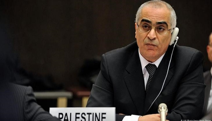 خريشي يدعو المجتمع الدولي لتحمل مسؤولياته والاعتراف بفلسطين ومقاطعة المستوطنات